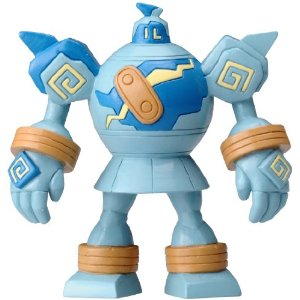 Pokemon Black and White Figure - M-035 - Goloog/Golurk