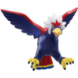 Pokemon Black and White Figure - M-042 - Warrgle/Braviary