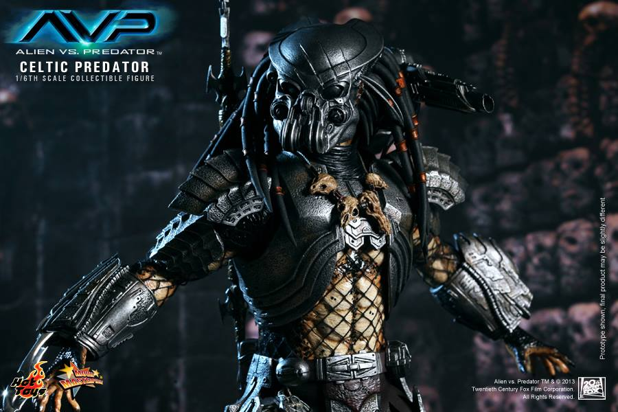 AVP: 1/6th scale Celtic Predator Hot Toys