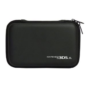 HORI Nintendo 3DS LL XL Hard Pouch - Black