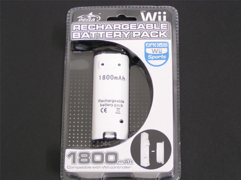 1800mAh Rechargeable Battery for Wii Controllers