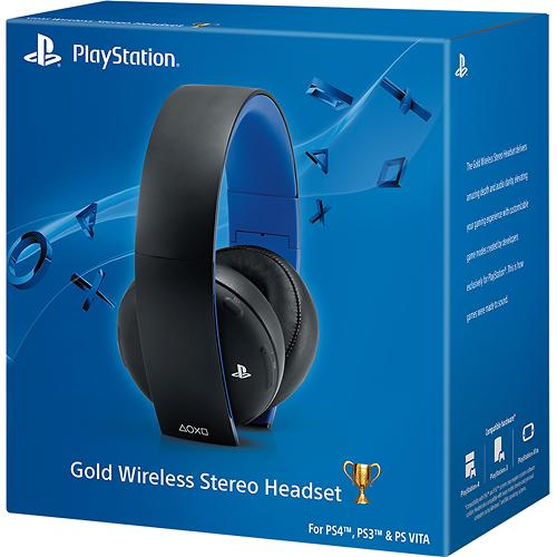 Sony Gold Wireless Stereo Headset 7.1 PS4