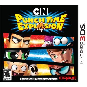 3DS - Cartoon Network: Punch Time Explosion US