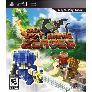 3D Dot Game Heroes for PS3 US