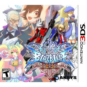 3DS - BlazBlue Continuum Shift II US