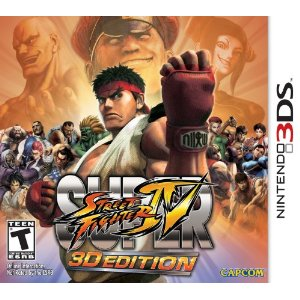 3DS - Super Street Fighter IV: 3D Edition US