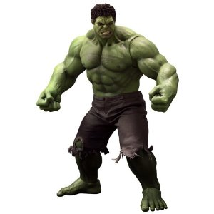 "Hot Toys ""The Avengers"" 1/6 Action Figure Hulk 42cm"