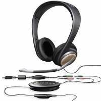 Sennheiser pc166 usb stereo multimedia headset
