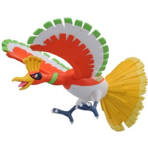"Pokemon Hyper Size Monster Collection MhP-07 ""Ho-Oh"""