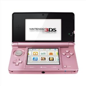 Nintendo 3DS Americano - Pearl Pink