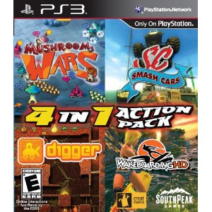 4-in-1 Action Pack for PS3 US