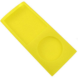 Case de silicone Yellow para iPod nano 4th