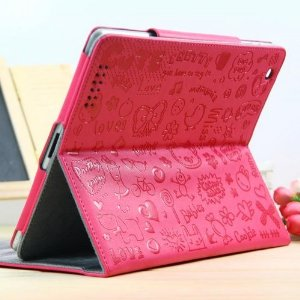 Case Happy for iPad - Pink
