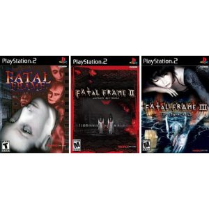 Fatal Frame Trilogy Complete Collection (I II e III) - PS2 US