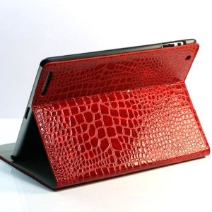 Case Crocodilo for iPad - Red