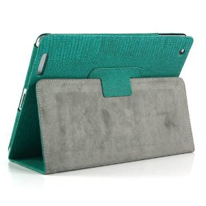 Case Lagarto for iPad - Green