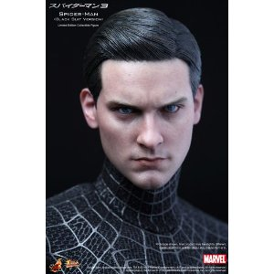 Hot Toys Spider-Man 3 Spider-Man Black Suit Version 1/6