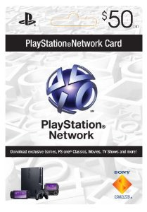 Sony Cartao PSN Playstation Network Card $50 Americana