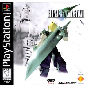 Final Fantasy VII PS1 USA