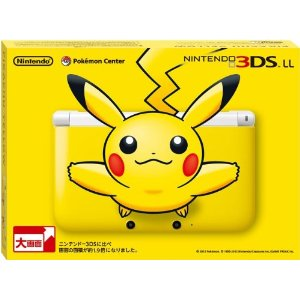 Nintendo 3DS LL Yellow Japones - Pikachu