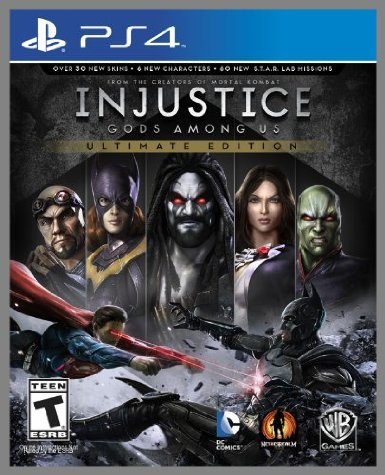 PS4 Injustice: Gods Among Ultimate Edition em Português US