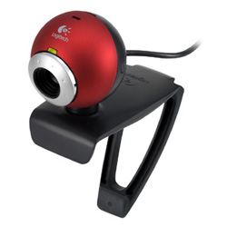 QuickCam® Chat CMOS True30 - Red