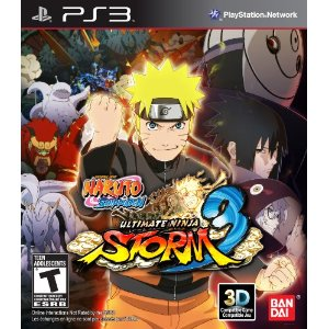 Naruto Shippuden: Ultimate Ninja Storm 3 for PS3 US