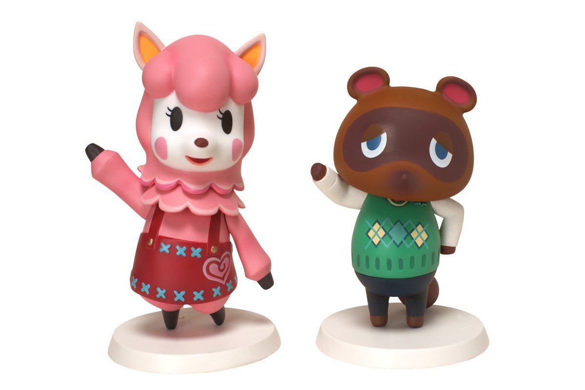 Animal Crossing Soft Vinyl Series Tom Nook Lisa set