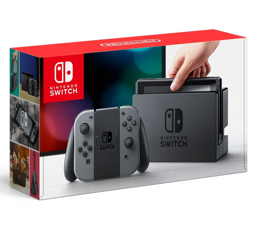 Console Nintendo Switch with Gray Joy-Con