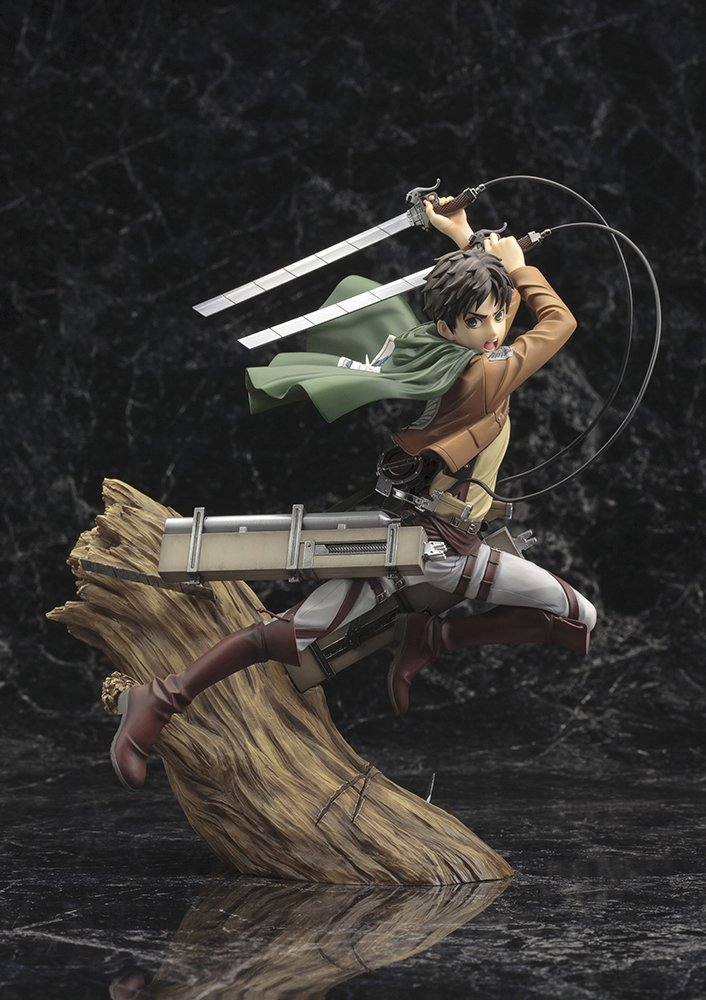 Attack on Titan Artfx J Eren Yeager 1/8