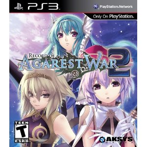 Record of Agarest War 2 for PS3 US