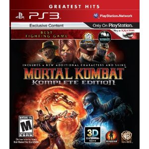 Mortal Kombat Komplete Edition for PS3 US em Portugu�s