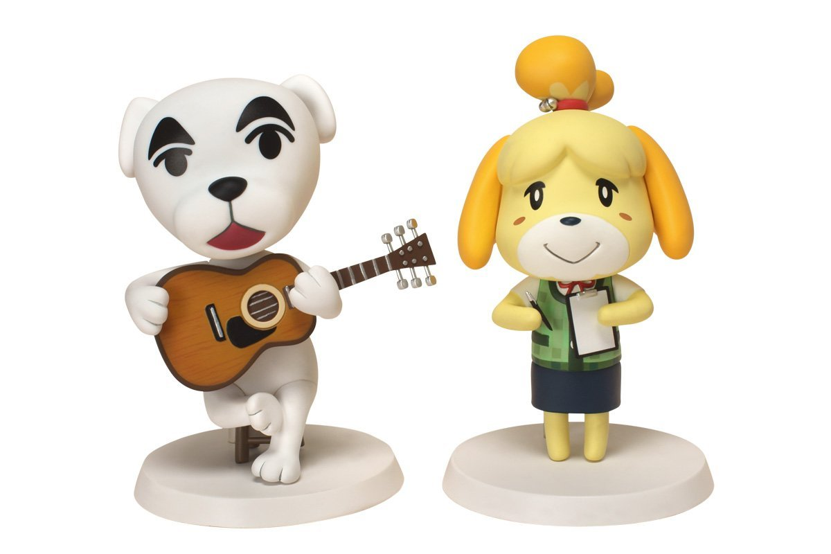 Animal Crossing Soft Vinyl Series Shizue Keke set