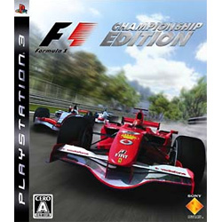 Formula One Championship Edition for PS3 JPN menus em ingl�s