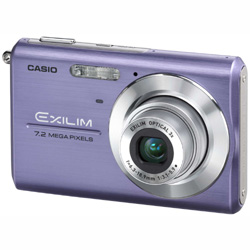 Casio EXILIM ZOOM EX-Z75 7.2MB em Portugues - Blue