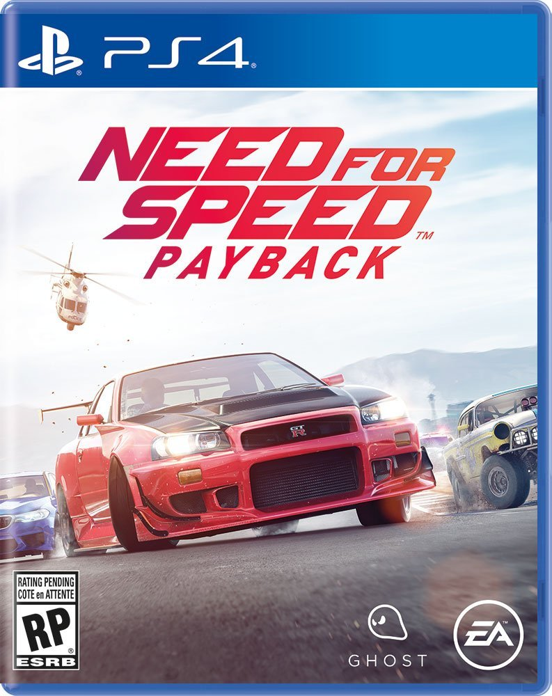 PS4 Need for Speed: Payback em Portugues (PlayStation 4)