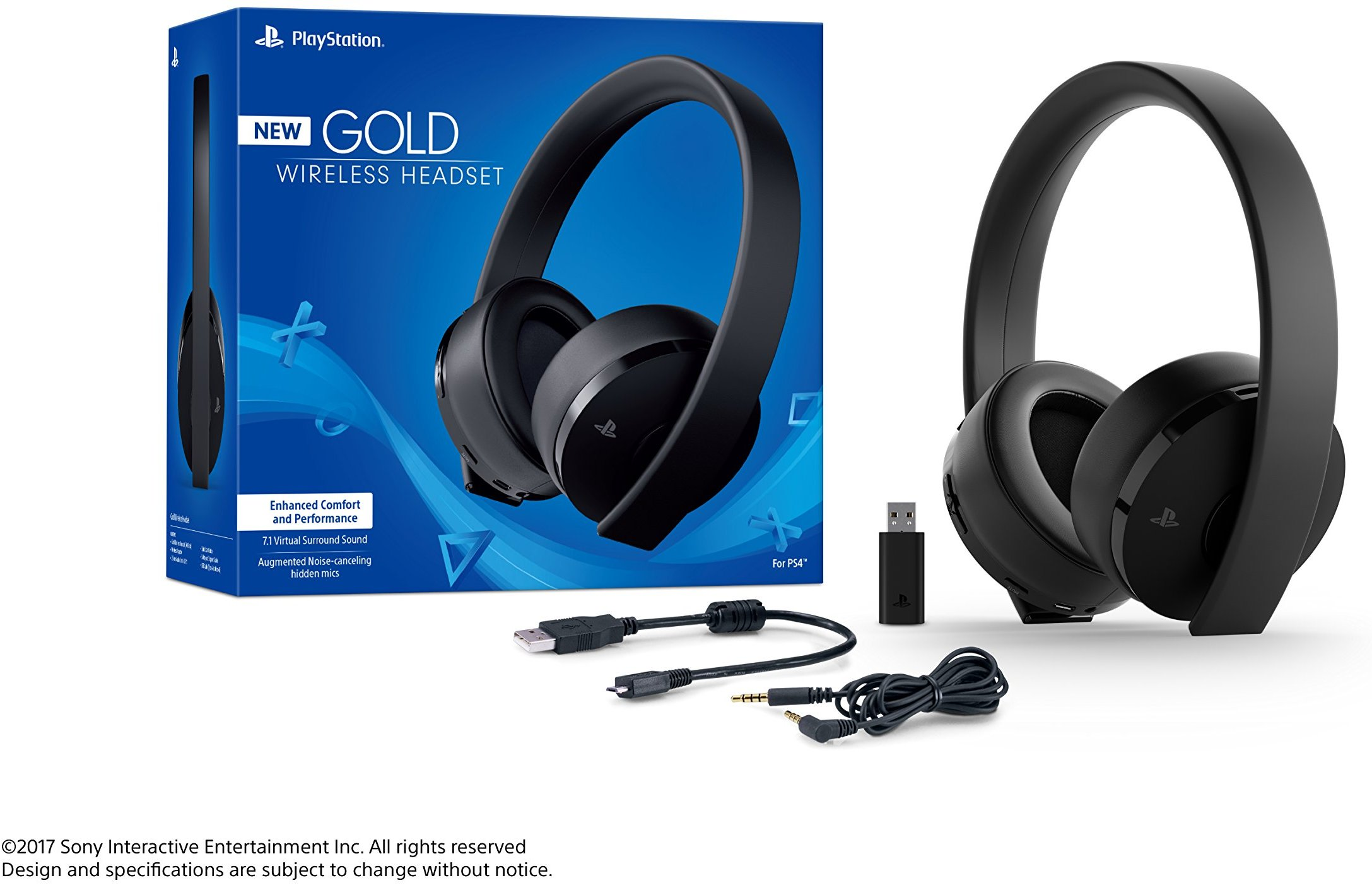 PS4 PlayStation Gold Wireless Headset