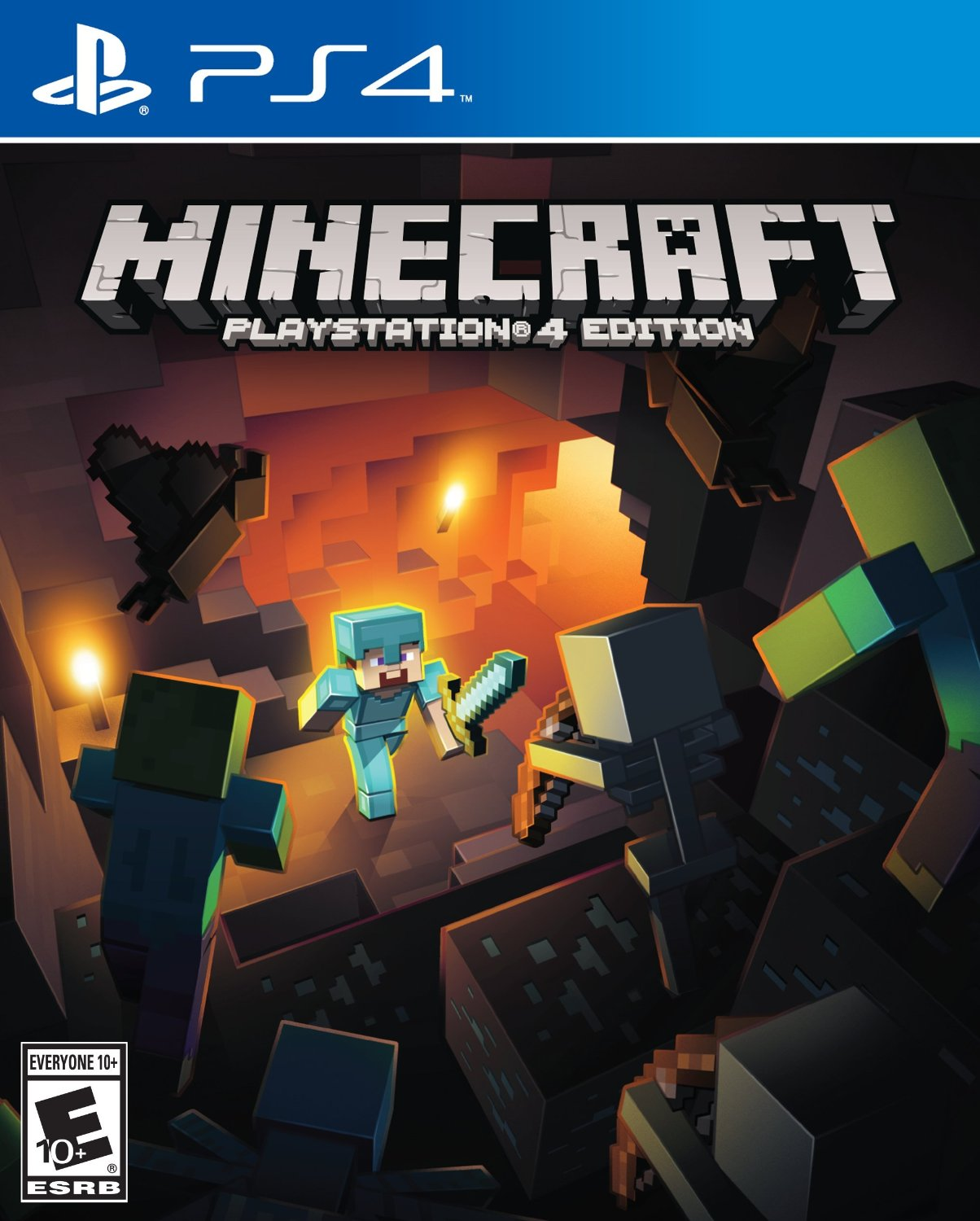 PS4 Minecraft em Portugues (PlayStation 4)
