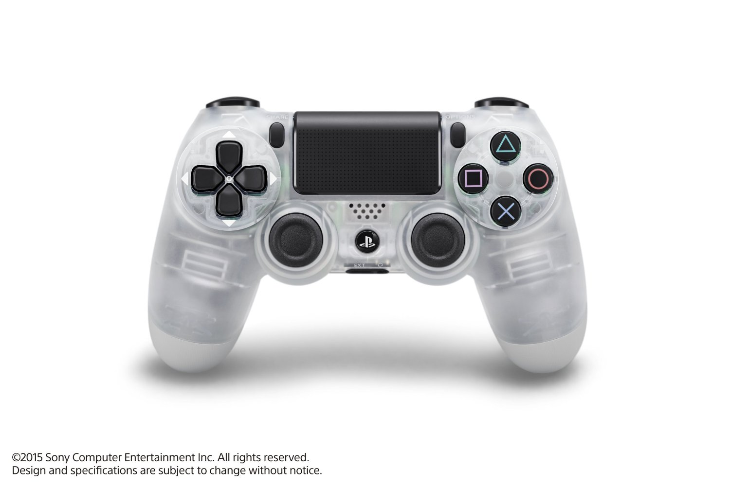 Dualshock 4 Wireless Controller (PlayStation 4) CRISTAL