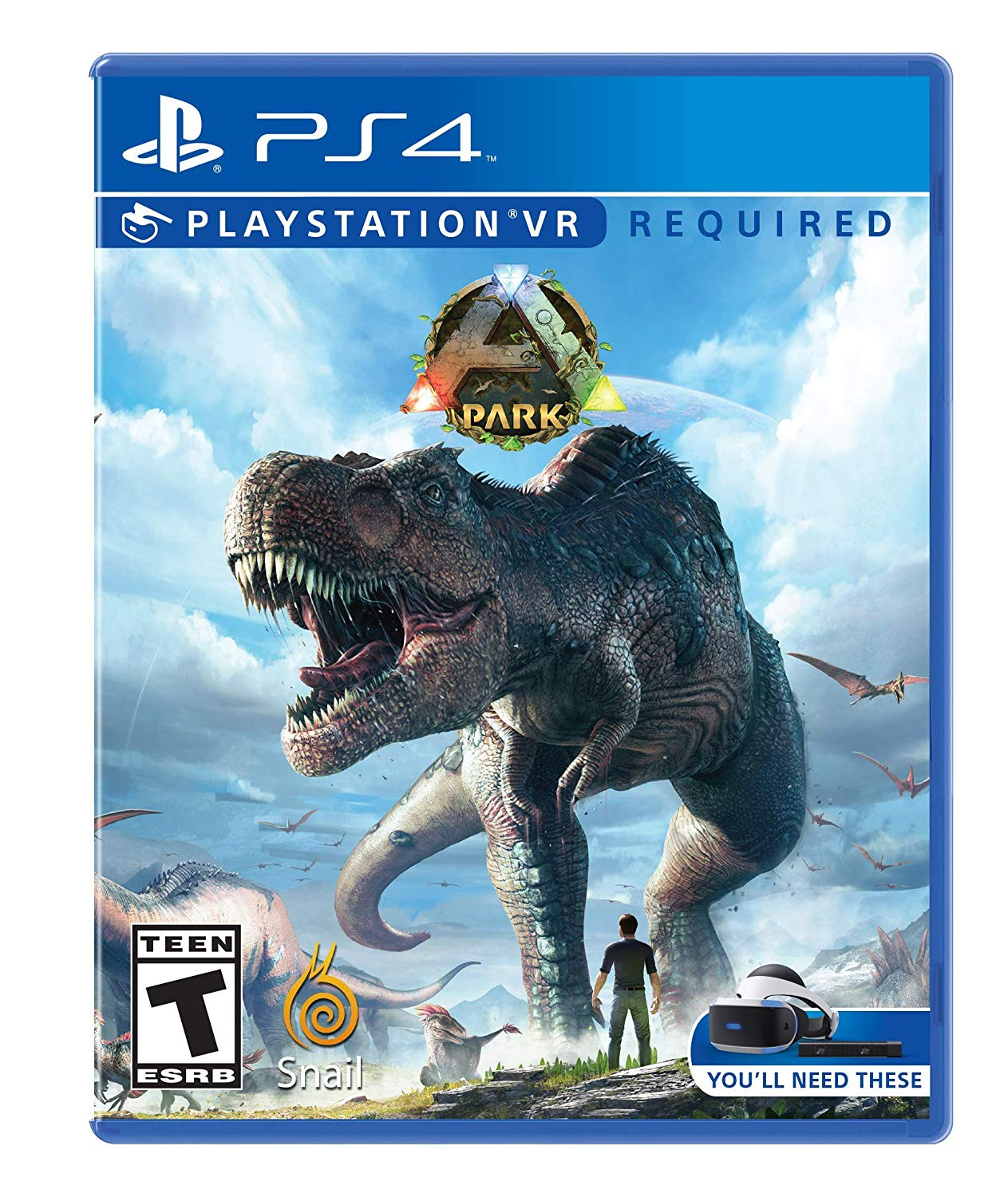 PS4 PSVR ARK Park VR