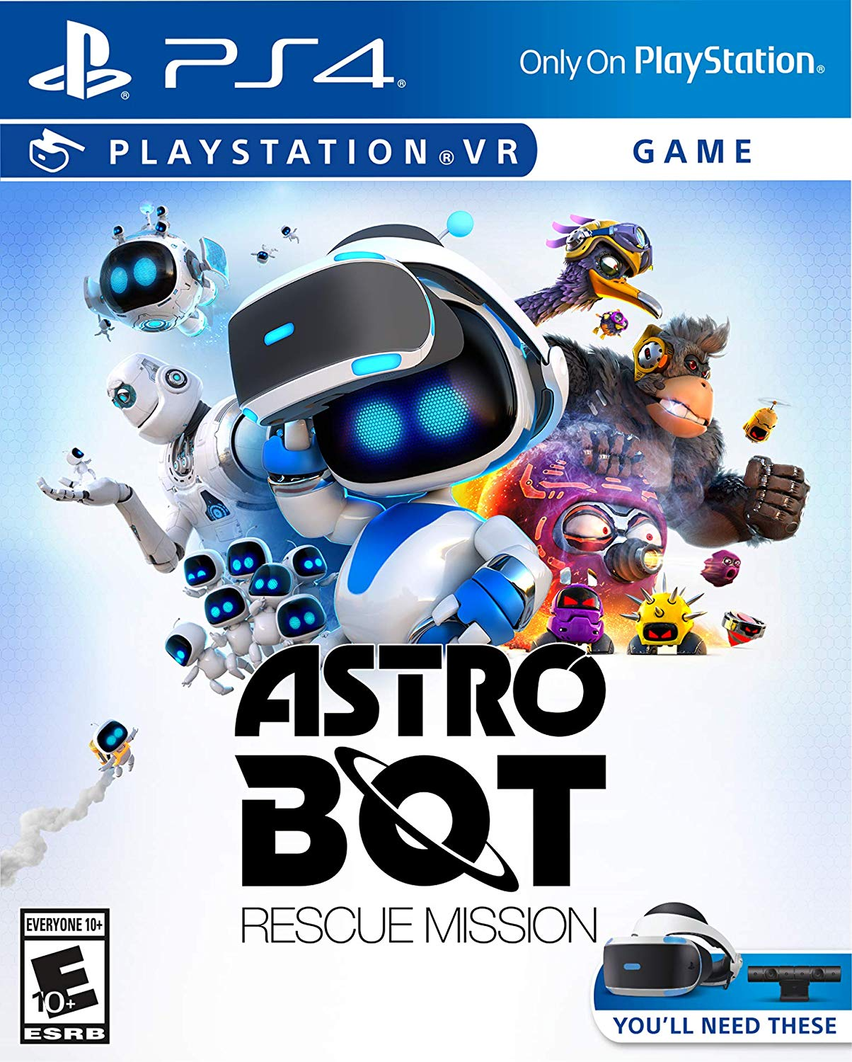 PS4 PSVR ASTRO Bot Rescue Mission VR