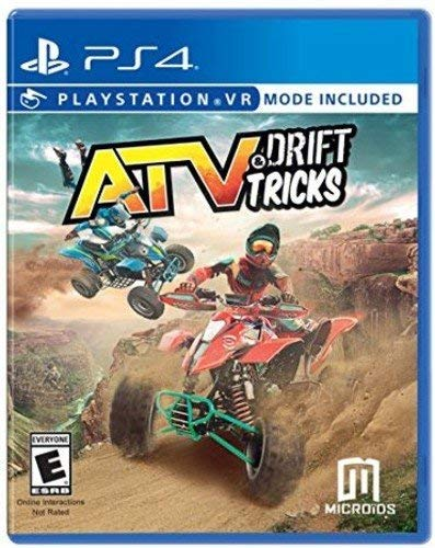 PS4 PSVR ATV Drift & Tricks VR