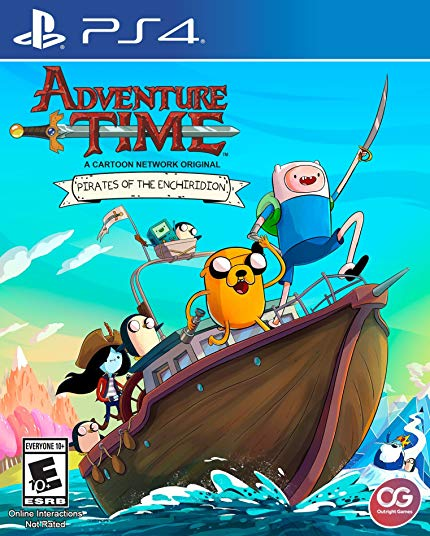 PS4 Adventure Time: Pirates of the Endhiridon (PlayStation 4)