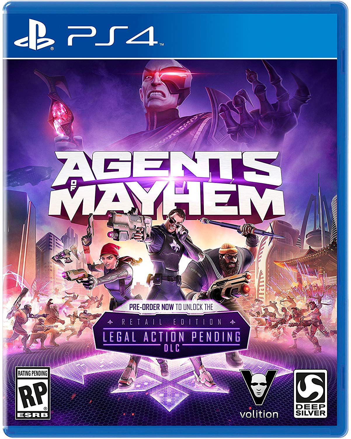 PS4 Agents of Mayhem Day (PlayStation 4)