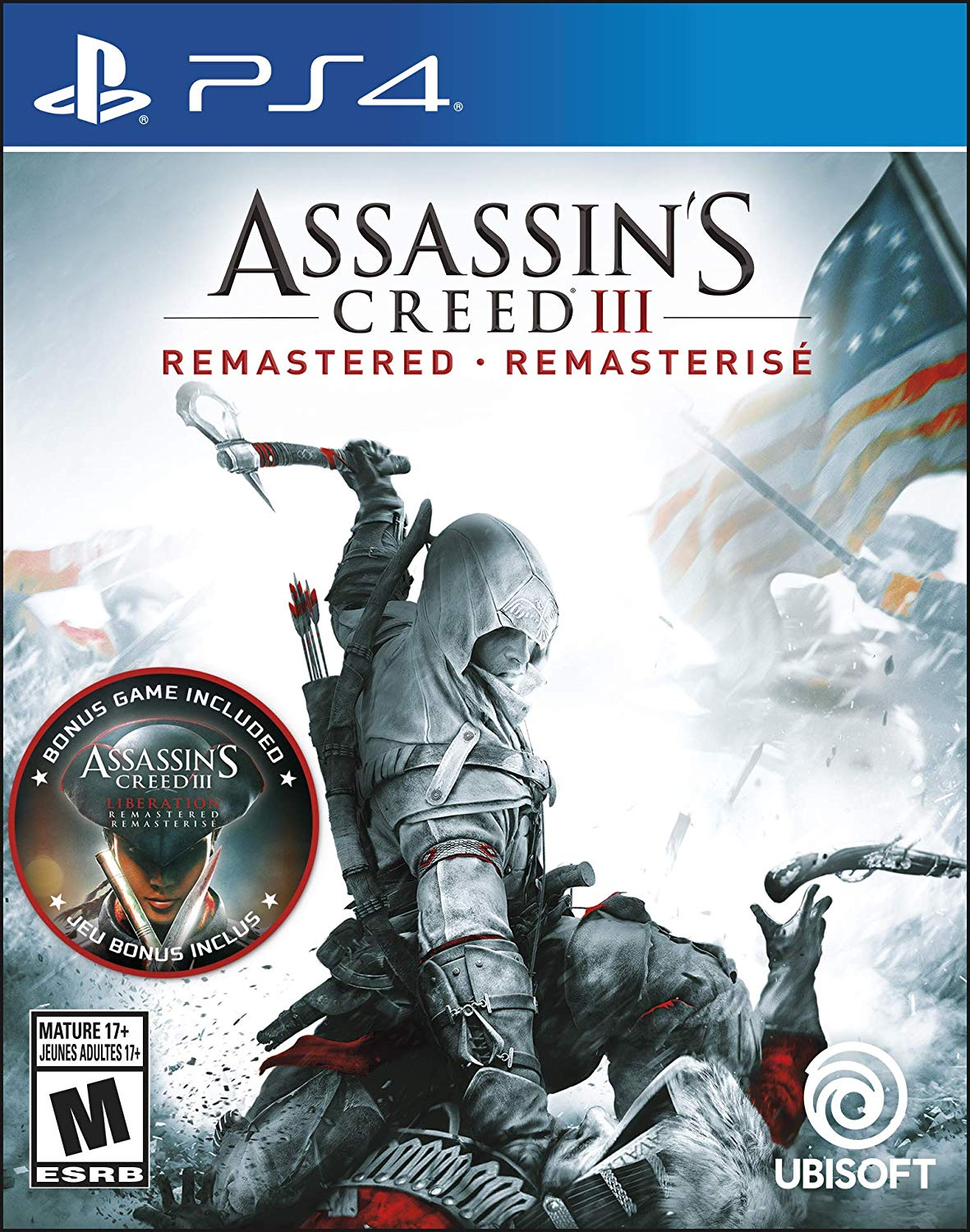 PS4 Assassin's Creed III: Remastered