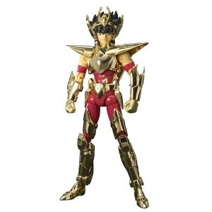 Saint Seiya Golden Genealogy Pegasus Myth Cloth 24K Gold SEMINOV
