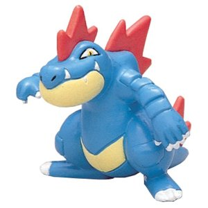 Pokemon Black and White Figure - M-079 - Feraligatr / Ordile