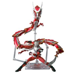 S.H.Figuarts Masked Rider Ryuki and Dragreder