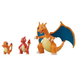 Pokemon Evolutionary Stages Charmander Charmeleon Charizard Plam