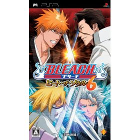 PSP 	Bleach: Heat the Soul 6 - JPN